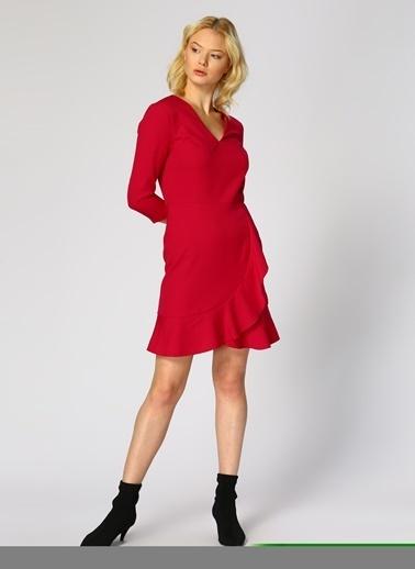 Random Elbise Fuşya